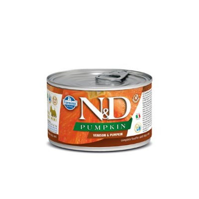 N&D PUMPKIN WET VENISON 140GR (12 TEMAXIA)