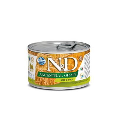 N&D LOW GRAIN WET BOAR & APPLE 140GR (12 TEMAXIA)