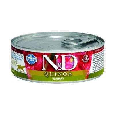 N&D Quinoa Cat Wet Urinary 80gr (12τεμαχια)