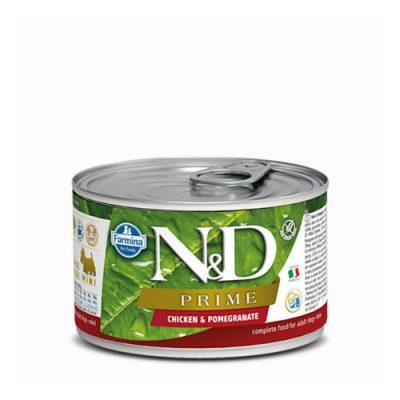 N&D PRIME WET CHICKEN & POMEGRANATE 140GR (12 ΤΕΜΑΧΙΑ)