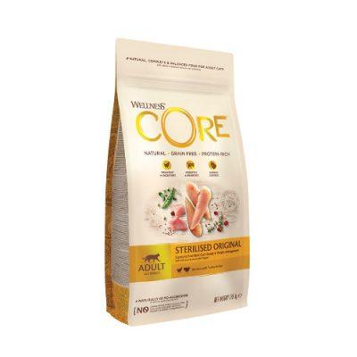 Wellness Core Sterilized Κοτόπουλο & Γαλοπούλα 1.75Kg