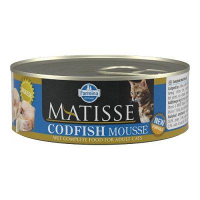 Farmina Matisse Cod Mousse 0.085Kg (12 Tεμαχια)