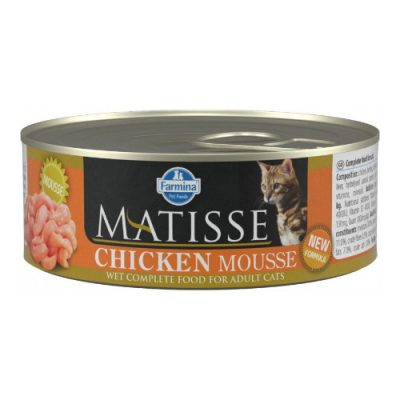 FARMINA MATISSE CHICKEN MOUSSE 0.085KG (12TEM)
