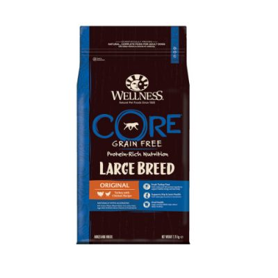 Wellness CORE Adult Large Breed Original Γαλοπούλα & Κοτόπουλο 2.75kg