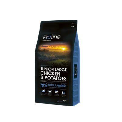 Profine Dog Junior Large Breed Chicken & Potatoes15Kgr