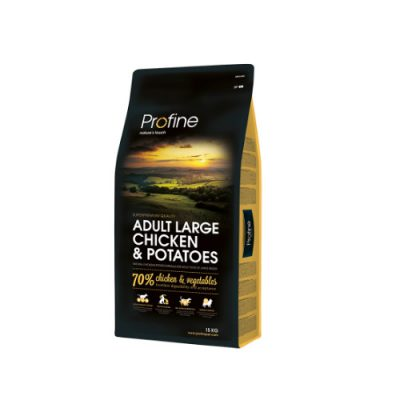 Profine Dog Adult Large Breed Chicken & Potatoes 15Kgr