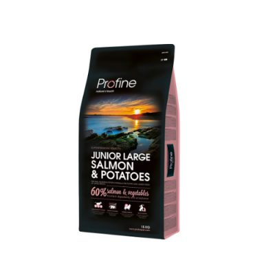 Profine Dog Junior Large Breed Salmon & Potatoes 15Kgr