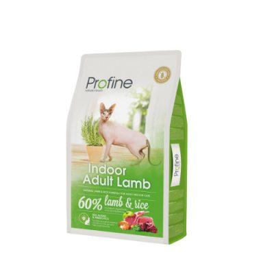 Profine Cat Indoor Lamb & Rice10Kgr