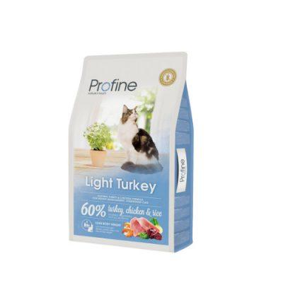 Profine Cat Light Turkey & Rice10Kgr