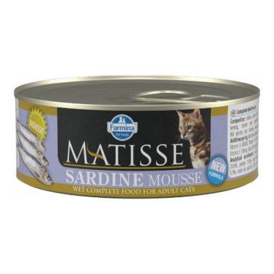 Farmina Matisse Sardine Mousse 0.085Kg (12 Τεμαχια)