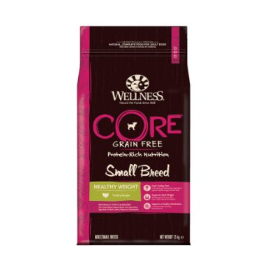Wellness CORE Healthy Weight Small Breed Γαλοπούλα 1.5kg