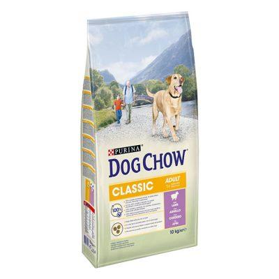 Tonus Dog Chow Classic Adult Αρνι 10 Kg