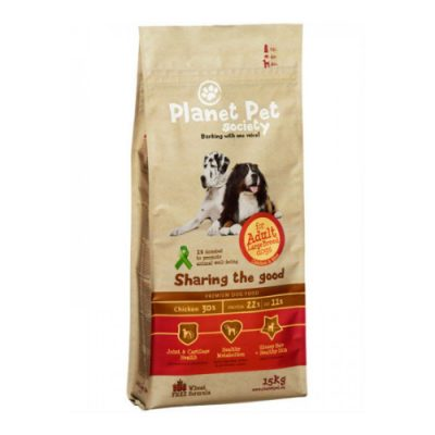 PLANET PET ADULT LARGE CHICKEN & RICE 15KG