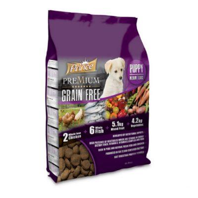 Prince Grain Free Puppy Medium - Large 4kg
