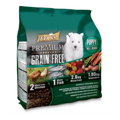 Prince Grain Free Puppy Small Medium 2kg