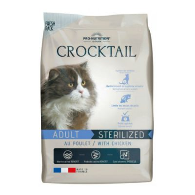 FLATAZOR CROCKTAIL ADULT STERILIZED ΜΕ ΚΟΤΟΠΟΥΛΟ 2KG