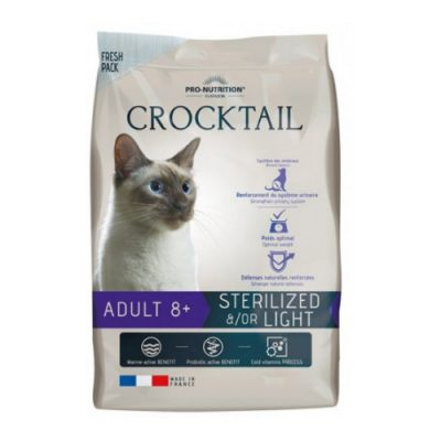 FLATAZOR CROCKTAIL STERILIZED 8+ 2KG
