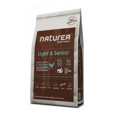 NATUREA GRAIN FREE LIGHT AND SENIOR 12KG