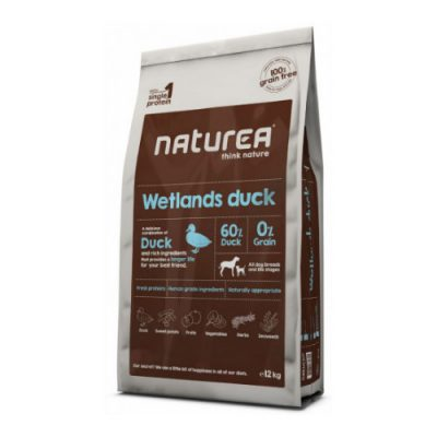 NATUREA GRAIN FREE WETLANDS DUCK 12KG