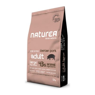 NATUREA NATURALS ADULT LARGE IBERIAN PORK 12KG