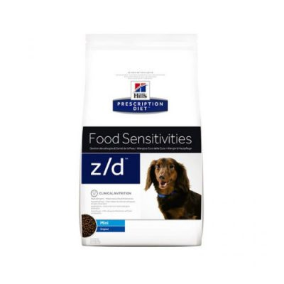 HILL'S PRESCRIPTION DIET z/d MINI FOOD SENSITIVITIES 1.5KG