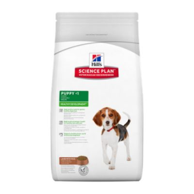 Hill's SCIENCE PLAN Puppy Medium Healthy Development Lamb & Rice 3kg