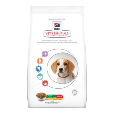 Vet Essentials Canine Puppy Medium Chicken 10Kg