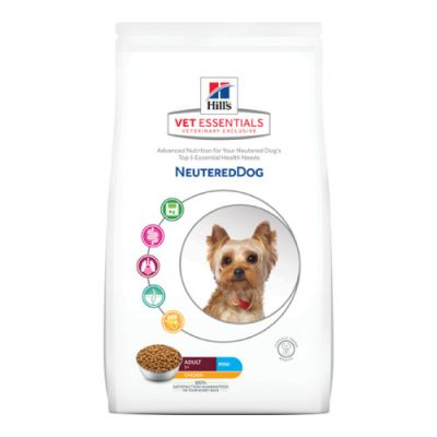 Vet Essentials Canine Adult Neutered Dog Mini Chicken 1,5Kg