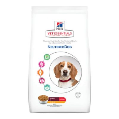 Vet Essentials Canine Adult Neutered Med Chicken 10Kg