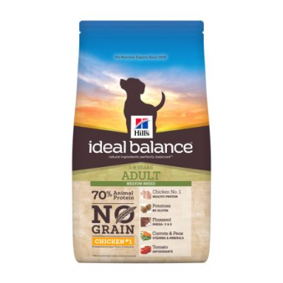 Hill's Ideal Balance Canine Adult No Grain Chicken & Potato 2kg