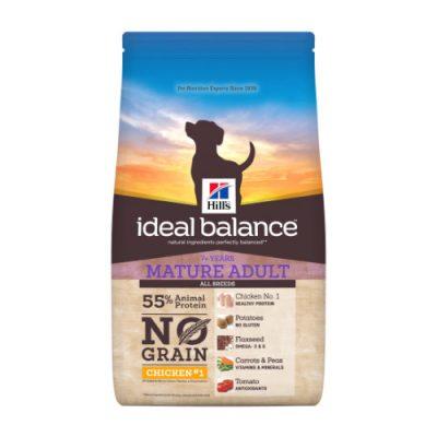 Hill's Ideal Balance Canine Mature Adult No Grain Chicken & Potato 12kg