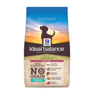 Hill's Ideal Balance Canine Adult Small Breed No Grain Tuna & Potato 2kg