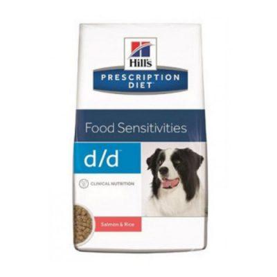 Hill'S Prescription Diet D/D Food Sensitivities Σολομο, Ρυζι 12Kg
