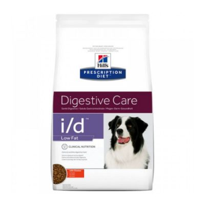 HILL'S PRESCRIPTION DIET I/D DIGESTIVE CARE LOW FAT ΓΙΑ ΣΚΥΛΟΥΣ ΜΕ ΚΟΤΟΠΟΥΛΟ 12KG