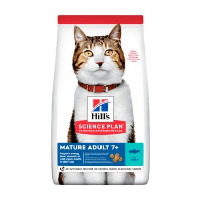 HILLS SCIENCE PLAN Mature Adult Cat Tuna 1.5kg