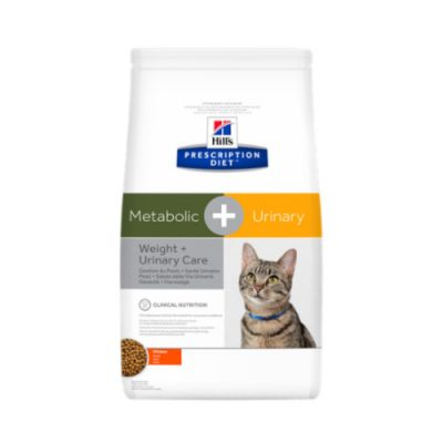 Hill'S Prescription Feline Metabolic + Urinary Stress 4Kg