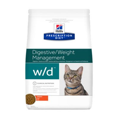 Hill's Prescription Feline w/d 1,5kg