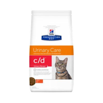 Hill's Prescription Feline c/d Urinary Stress κοτοπουλο 4kg