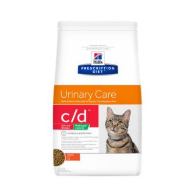 Hill's Prescription Feline c/d Urinary Stress Reduced Calorie 4kg