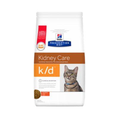 Hill's Prescription Feline κοτόπουλο k/d 1,5kg