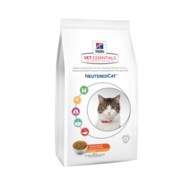 Vet Essentials Feline Young Adult Neutered Cat Chicken 3kg