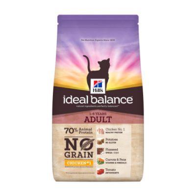 Hill's ideal balance Feline Adult No Grain Chicken & Potato 1,5kg