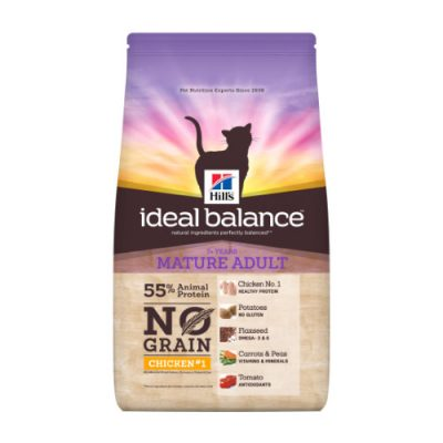 Hill's ideal balance Feline Mature Adult No Grain Chicken & Potato 1,5kg