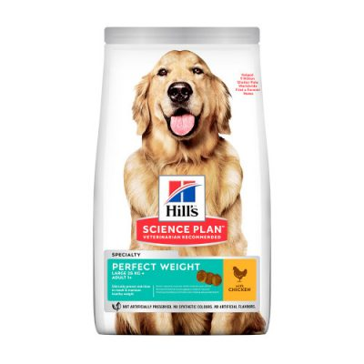 Hill's SCIENCE PLAN Adult Dog Perfect Weight Large Breed Chicken 12kg