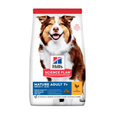 Hill's SCIENCE PLAN Mature Adult Dog Medium Chicken 14kg