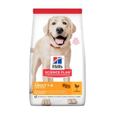 Hill's SCIENCE PLAN Adult Dog Light Large Breed Chicken 14kg
