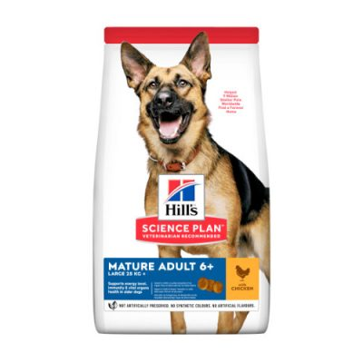 Hill's SCIENCE PLAN Mature Adult Dog Large Breed Chicken 14kg
