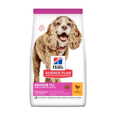 Hill's SCIENCE PLAN Senior Dog 11+ Small&Mini Chicken 1.5kg