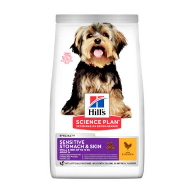 Hill's SCIENCE PLAN Adult Dog Sensitive Stomach&Skin Small&Mini Chicken 1.5kg