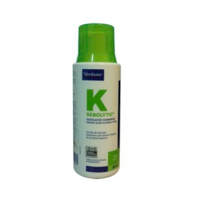 Sebolytic-K Shampoo Virbac (Dogs&Cats) 200Ml